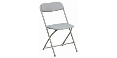 Rent Gray Folding Chairs