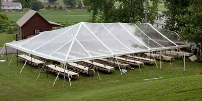 Rent A Clear Top Tent